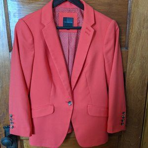 The Limited Coral Blazer